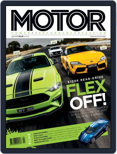 Motor Magazine Australia (Digital) April 1st, 2020 Issue Cover