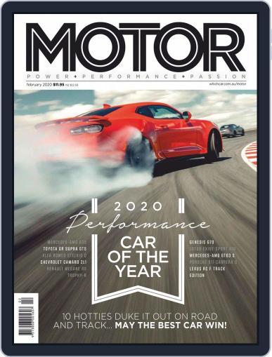 Motor Magazine Australia (Digital) February 1st, 2020 Issue Cover