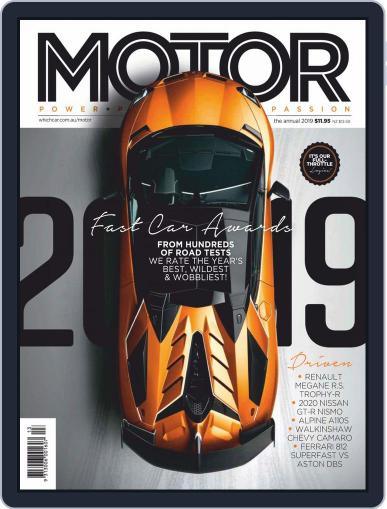 Motor Magazine Australia December 2nd, 2019 Digital Back Issue Cover