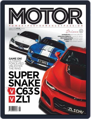 Motor Magazine Australia (Digital) August 1st, 2019 Issue Cover