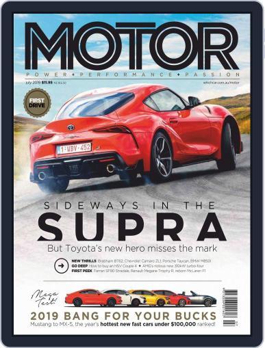 Motor Magazine Australia July 1st, 2019 Digital Back Issue Cover
