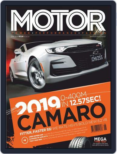 Motor Magazine Australia (Digital) June 1st, 2019 Issue Cover