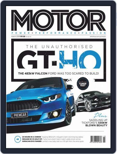 Motor Magazine Australia (Digital) March 1st, 2019 Issue Cover