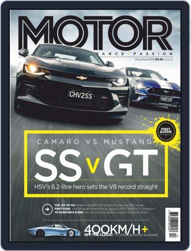 Motor Magazine Australia (Digital) December 2nd, 2018 Issue Cover