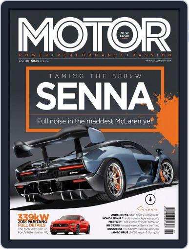 Motor Magazine Australia (Digital) June 1st, 2018 Issue Cover