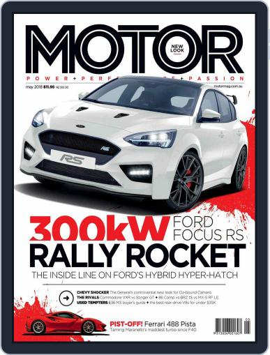 Motor Magazine Australia (Digital) May 1st, 2018 Issue Cover