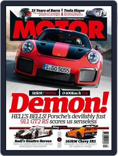 Motor Magazine Australia (Digital) December 15th, 2017 Issue Cover