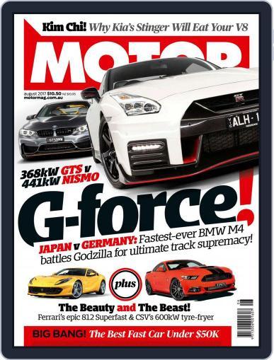 Motor Magazine Australia (Digital) August 1st, 2017 Issue Cover