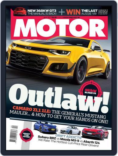 Motor Magazine Australia April 1st, 2017 Digital Back Issue Cover