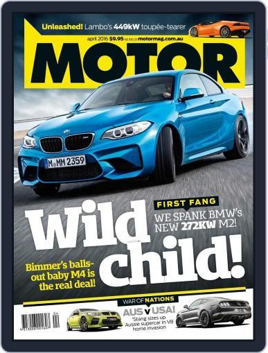 Motor Magazine Australia (Digital) March 3rd, 2016 Issue Cover