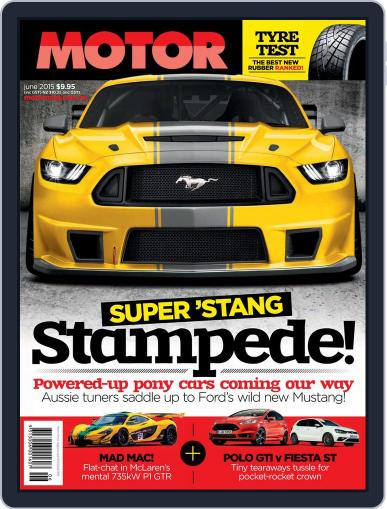 Motor Magazine Australia (Digital) May 7th, 2015 Issue Cover