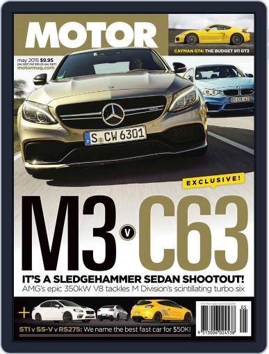 Motor Magazine Australia April 1st, 2015 Digital Back Issue Cover