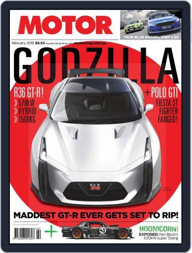 Motor Magazine Australia (Digital) February 1st, 2015 Issue Cover