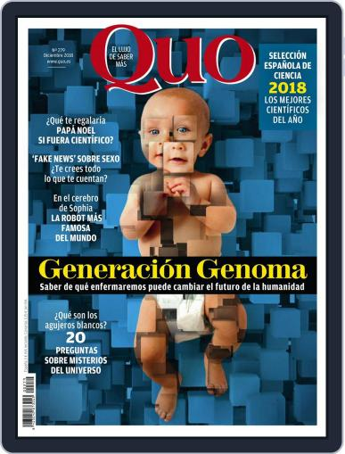 Quo (Digital) December 1st, 2018 Issue Cover
