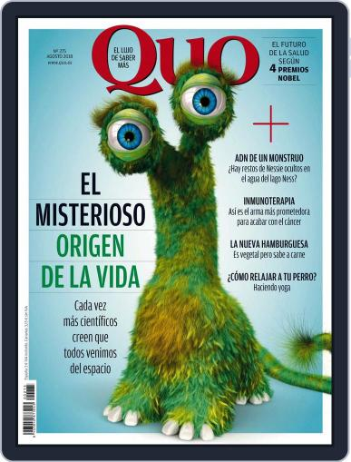 Quo August 1st, 2018 Digital Back Issue Cover