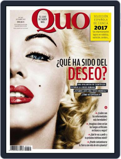 Quo (Digital) October 1st, 2017 Issue Cover