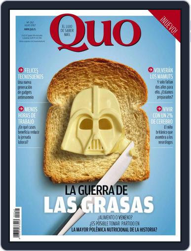 Quo July 1st, 2017 Digital Back Issue Cover