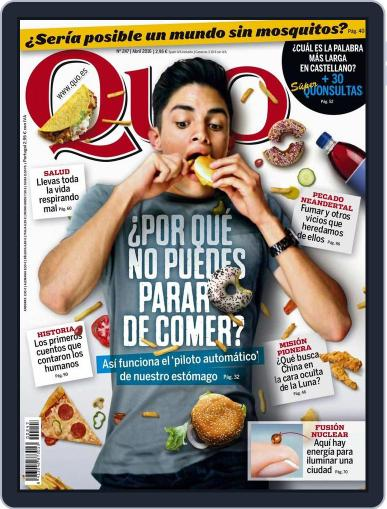 Quo (Digital) March 22nd, 2016 Issue Cover