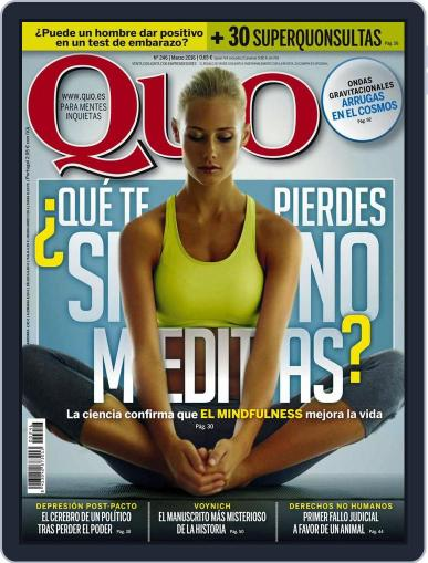 Quo (Digital) February 23rd, 2016 Issue Cover