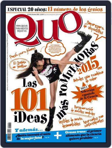 Quo (Digital) October 1st, 2015 Issue Cover
