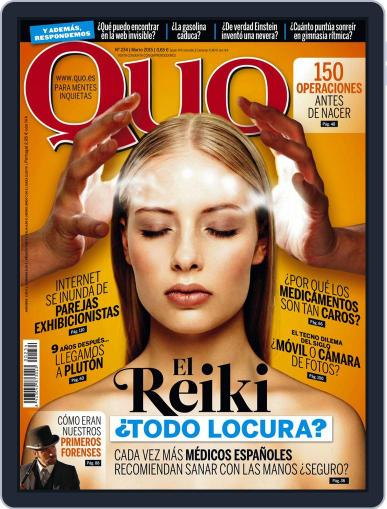 Quo (Digital) March 1st, 2015 Issue Cover