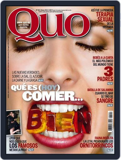 Quo (Digital) February 24th, 2014 Issue Cover