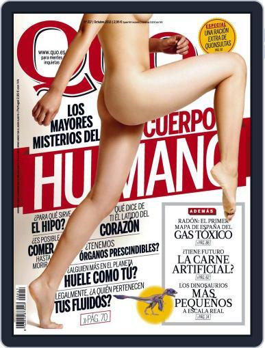 Quo (Digital) September 23rd, 2013 Issue Cover