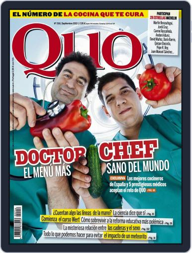 Quo August 22nd, 2013 Digital Back Issue Cover