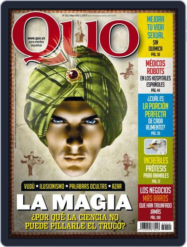 Quo April 22nd, 2013 Digital Back Issue Cover