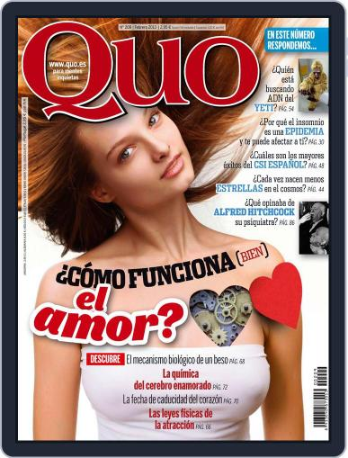 Quo (Digital) January 21st, 2013 Issue Cover