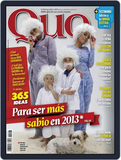 Quo (Digital) December 20th, 2012 Issue Cover