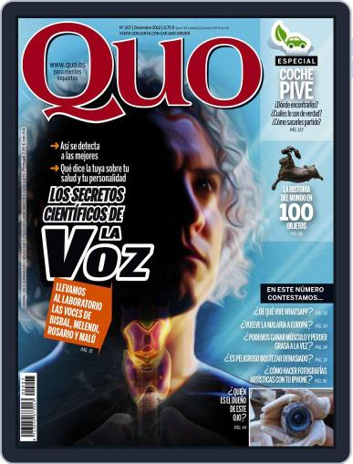 Quo (Digital) November 22nd, 2012 Issue Cover