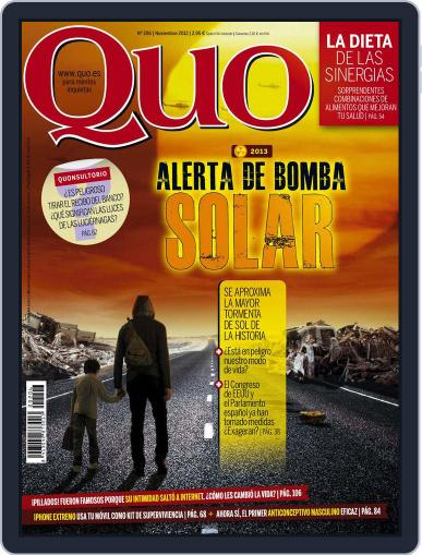 Quo October 24th, 2012 Digital Back Issue Cover