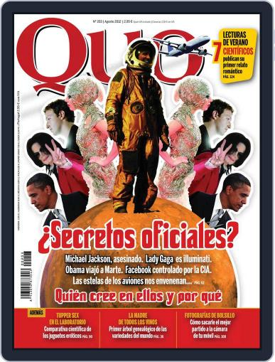 Quo July 23rd, 2012 Digital Back Issue Cover