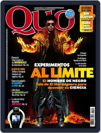 Quo February 23rd, 2012 Digital Back Issue Cover