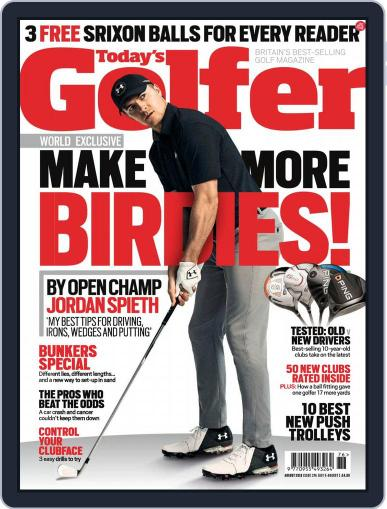 Today's Golfer August 1st, 2018 Digital Back Issue Cover