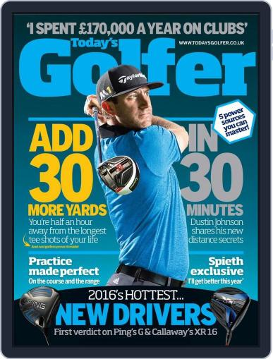 Today's Golfer (Digital) January 21st, 2016 Issue Cover