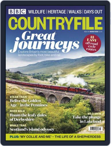 Bbc Countryfile (Digital) March 1st, 2020 Issue Cover