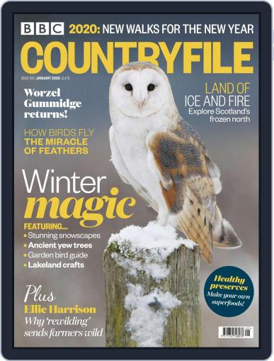 Bbc Countryfile (Digital) January 1st, 2020 Issue Cover