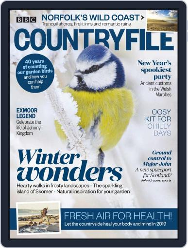 Bbc Countryfile January 1st, 2019 Digital Back Issue Cover