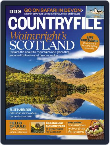 Bbc Countryfile October 1st, 2018 Digital Back Issue Cover
