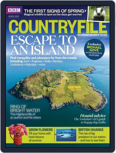 Bbc Countryfile (Digital) March 1st, 2018 Issue Cover