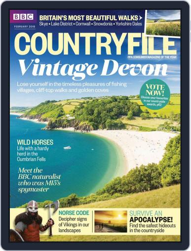 Bbc Countryfile (Digital) February 1st, 2018 Issue Cover