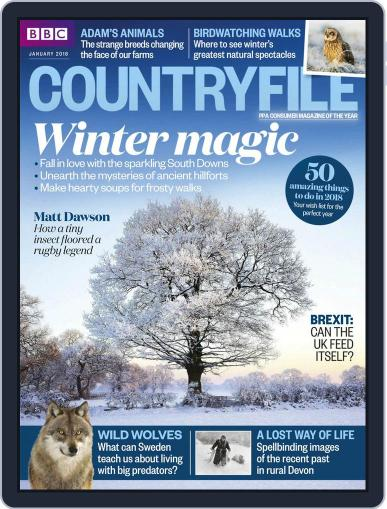 Bbc Countryfile (Digital) January 1st, 2018 Issue Cover