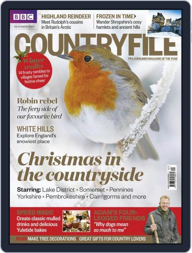 Bbc Countryfile (Digital) December 1st, 2017 Issue Cover