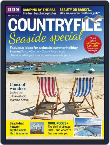 Bbc Countryfile (Digital) August 1st, 2017 Issue Cover