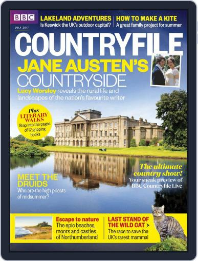 Bbc Countryfile (Digital) July 1st, 2017 Issue Cover