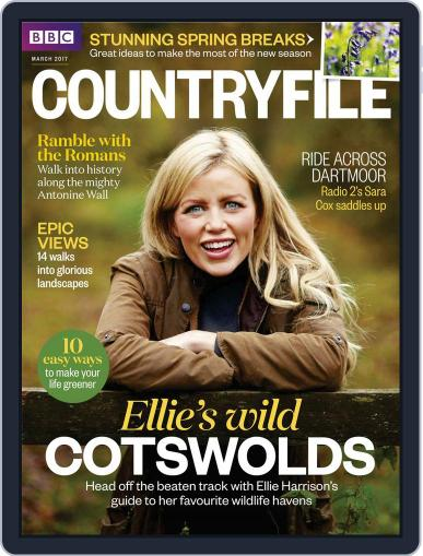 Bbc Countryfile March 1st, 2017 Digital Back Issue Cover