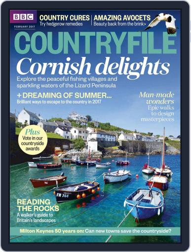 Bbc Countryfile February 1st, 2017 Digital Back Issue Cover