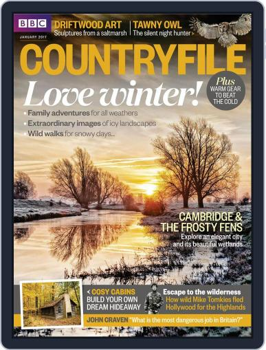 Bbc Countryfile (Digital) January 1st, 2017 Issue Cover